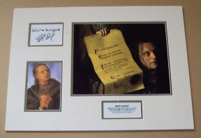 Lord Of The Rings Signed Movie Photo SET  Brad Dourif WORMTOUNGE